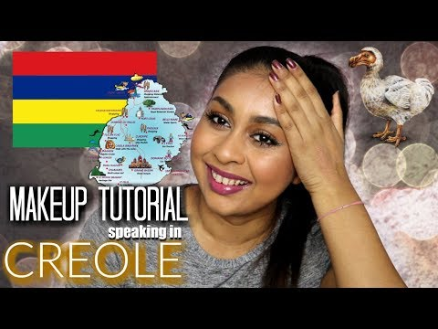 FULL MAKEUP TUTORIAL SPEAKING IN MAURITIAN CREOLE