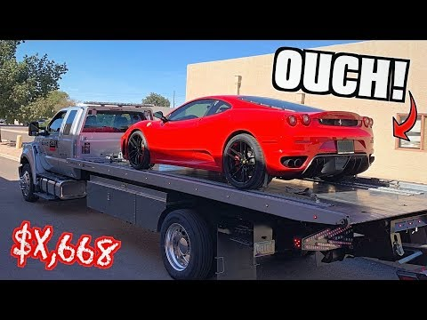 Ferrari F430 Broke BIG TIME! Here's What It Cost To Fix!!😬