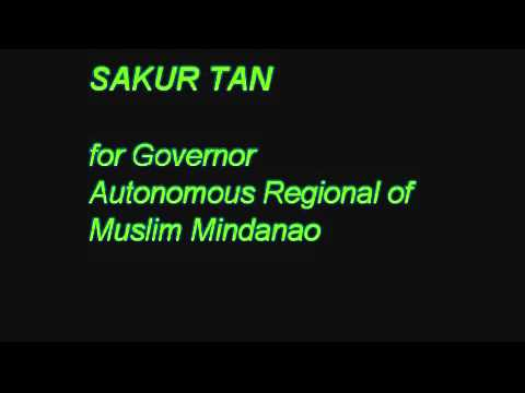 SAKUR TAN FOR  REGIONAL GOVERNOR