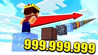 ПРОЙТИ НЕВОЗМОЖНО! 999.999.999.999 ПРЫЖКОВ ПАРКУРА В МАЙНКРАФТ