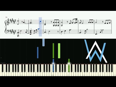 Alan Walker - Faded (Piano Version) - Piano Tutorial + SHEETS