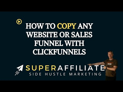 Copy Any Website with ClickFunnels | Step by Step How to Copy Any Website or Funnels for Your Biz