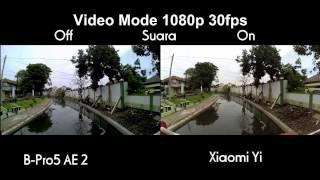 Download Video Xiaomi Yi vs B-Pro5 Alpha Edition Mark 2 - Action Camera Rival  !!! MP3 3GP MP4