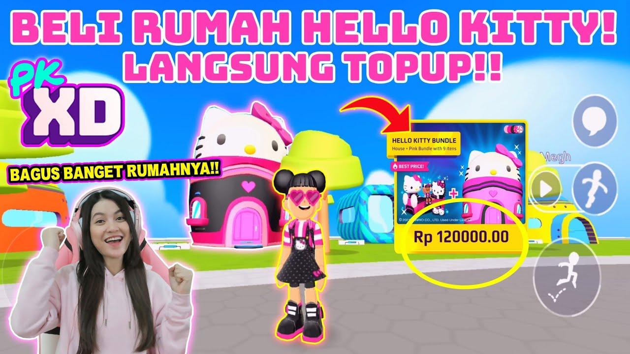 BELI RUMAH HELLO KITTY!! GAK NYESEL POKOKNYA..BAGUS BANGET RUMAHNYA!! PK XD INDONESIA - PART 4