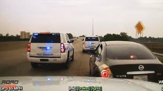 Arkansas Police Chase and Shooting!- #RoadCam