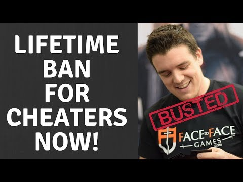 MTG Pro Caught Cheating! Lifetime BAN For MTG Cheaters NOW!