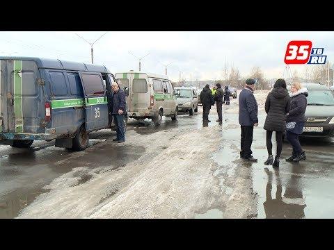 Рейд по выявлению должников провели приставы и полицейские на улицах Череповца