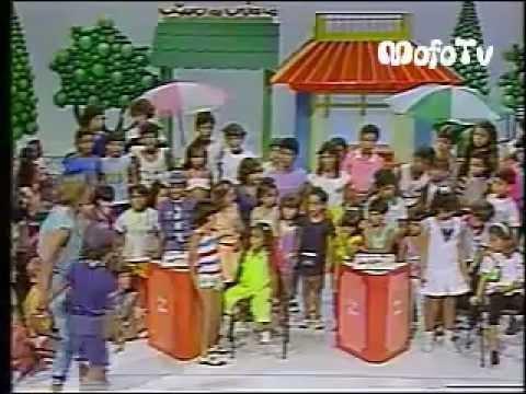 Clube da Criança c Xuxa e a Primeira Paquita (Andréa Veiga) 1984 Tv Manchete