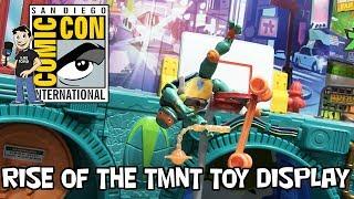 Rise of the TMNT Toys at San Diego Comic Con 2018 Teenage Mutant Ninja Turtles