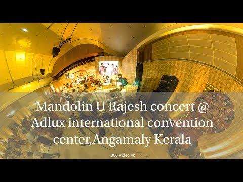 Mandolin U Rajesh  concert at Adlux International Convention center ,Kerala
