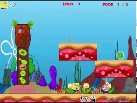 Губка Боб Игры для двоих (Spongebob Bubble World 3)
