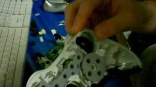 how to fix a bumper on an xbox 360 controller lb button rb button fix