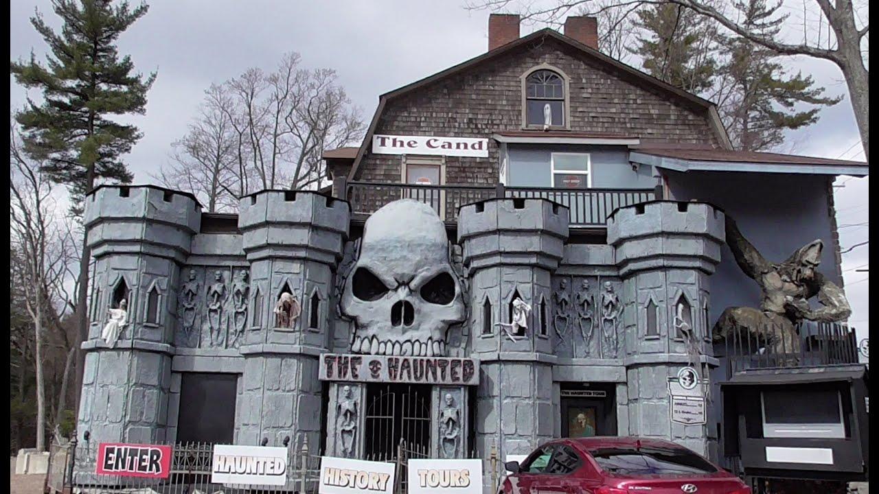 Tour of Poconos Haunted Candle Shoppe - YouTube