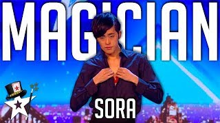 Magician From Japan Does A Magic Reveal! | Britain's Got Talent 2018 | Magician's Got Talent