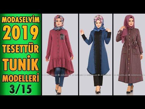#Modaselvim 2019 Tesettür Tunik Modelleri 3/15 | #Hijab #Tunic | #tesettür #tunik