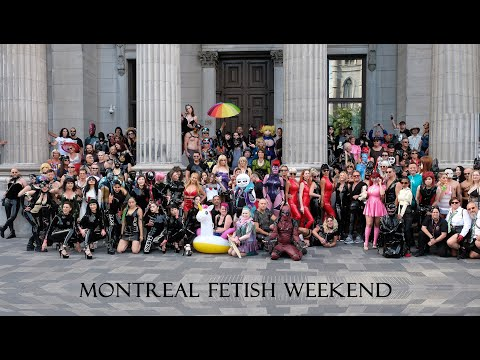 MONTREAL FETISH WEEKEND :: 1 HOUR OF LATEX KINK FASHION CATSUIT CYBER STEAMPUNK