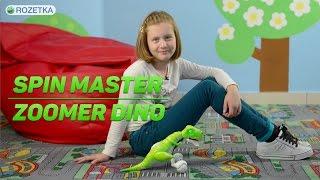 Spin Master Zoomer Dino: обзор интерактивного робота-динозавра