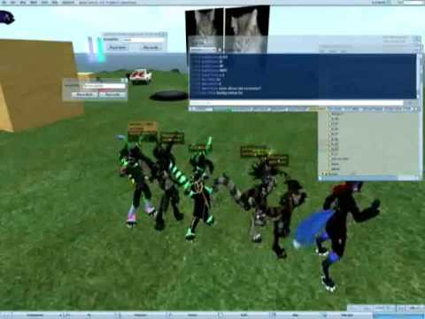 Screwing around on Second Life