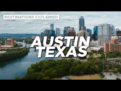 Austin Texas: Cool Things To Do // Destinations Explained