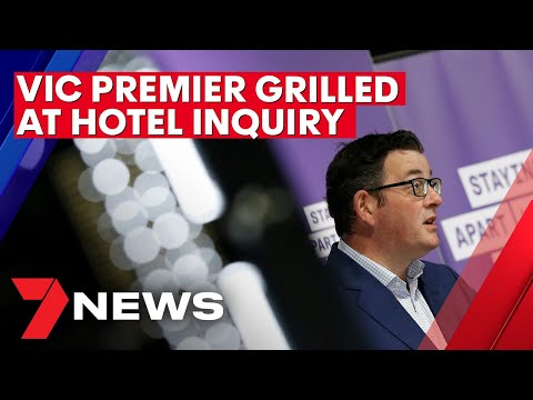 Victorian Premier's Bombshell Admission At Hotel Quarantine Inquiry | 7NEWS