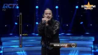 "Dimas Fadillah ""Jangan Ada Angkara"" Nicky Astria - Rising Star Indonesia Live Audition Eps  8"