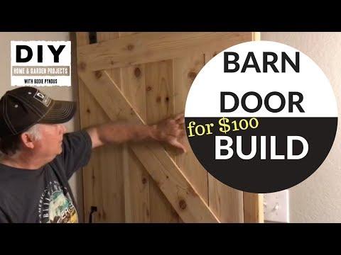 Barn Door Build