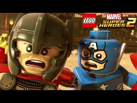 LEGO MARVEL SUPER HEROES 2 All Cutscenes (Game Movie) 1080p 60FPS