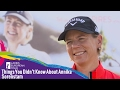 Things you didn't know about Annika Sorenstam の動画、YouTube動画。