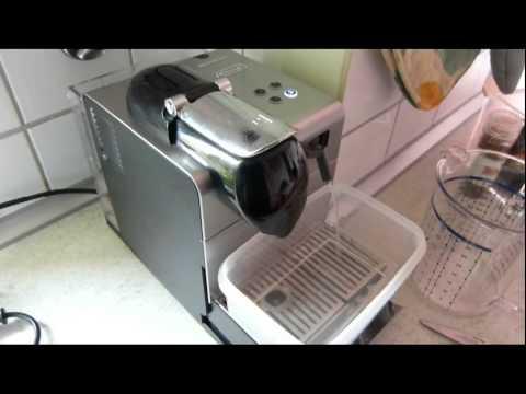 DeLonghi EN 520 Nespresso Lattissima+ descaling - how to ...