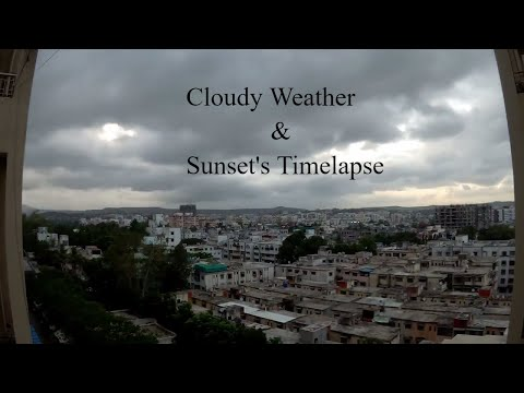 Timelapse of Pune City || Sexy Weather || Sunset