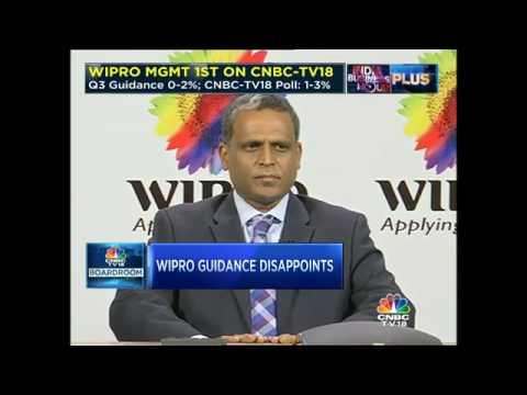 Wipro Q2: Wipro's Management Speaks To CNBC-TV18