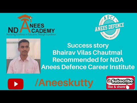 Recommended For NDA- Bhairav Chautmal @ Anees Academy