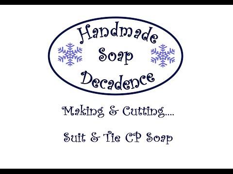 Making Suit & Tie Artisan Soap 18/02/15