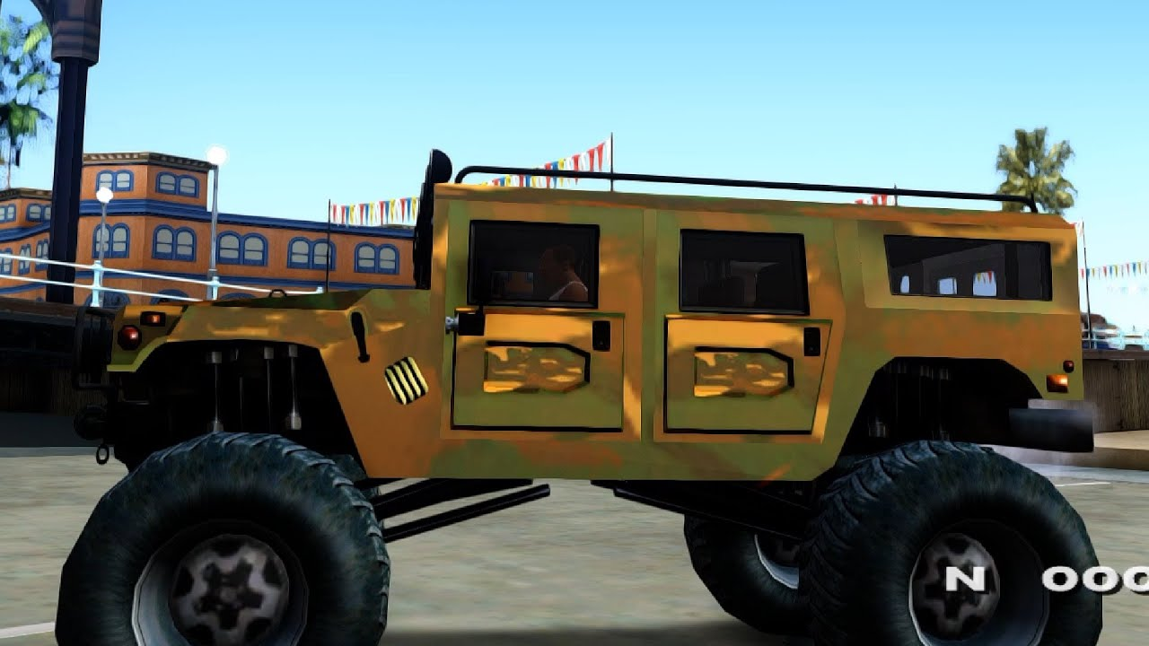 Hummer H1 Monstertruck GTA San Andreas