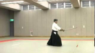 Koji YOSHIDA Nishio-ryu Iaido (Toho Iai no9)