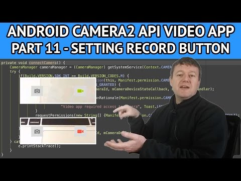 android video app enabling record button - Nige's App Tuts