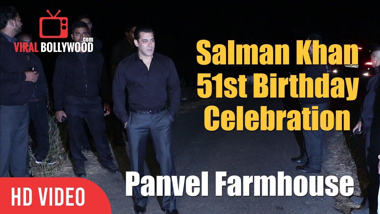 Salman Khan 51st Birthday Celebration