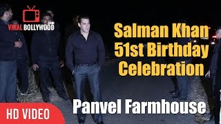 salman khan 51st birthday celebration panvel farmhouse salman khan birthday party full video