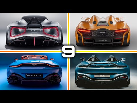9 New Best BRITISH SUPERCARS for 2020 – 2021 | Mclaren, Aston Martin, Lotus