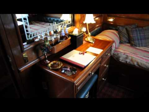 "My Cabin at ""The Royal Scotsman"" Luxury Train by Orient-Express"