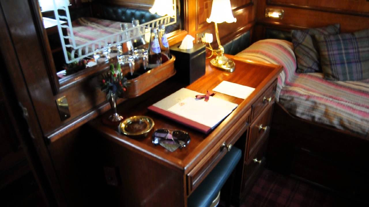 My Cabin At Quot The Royal Scotsman Quot Luxury Train By Orient