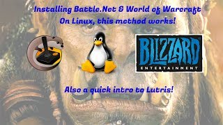 Installing Wow Via Lutris On Linux (2017)