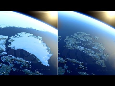 What Happens When The Ice Melts? Will Sea Levels Rise? Is Antartica Melting? Scary Earth Documentary