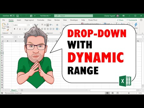 Data Validation Drop Down List with Excel Table Dynamic
