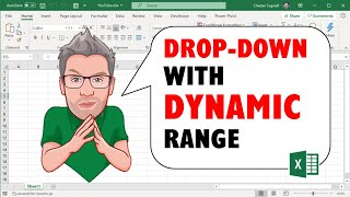 Data Validation Drop Down List with Excel Table Dynamic Range