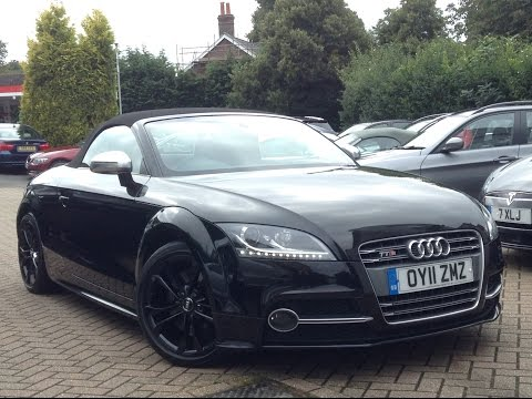 Audi TTS 2.0 TFSI Roadster S Tronic Quattro 2dr for Sale at CMC-Cars, Near Brighton, Sussex