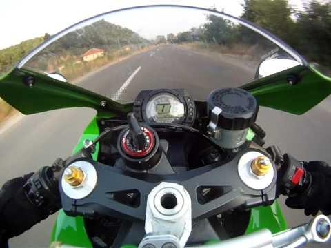 Kawasaki zx10r 2005 50-200 kmh