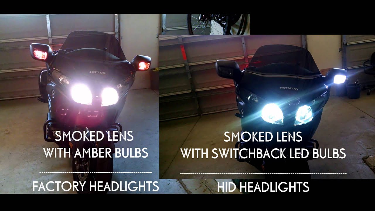 F6b Factory Headlights Vs Hid And Switchback Led Youtube