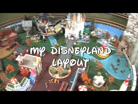 DISNEYLAND TRAIN LAYOUT G SCALE & S SCALE