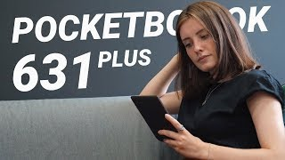 Обзор PocketBook 631 Plus: топовый ридер с MP3 и цветной подсветкой